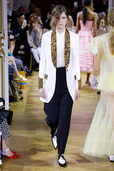 John Galliano Spring 2018 Ready-to-Wear - Look #12