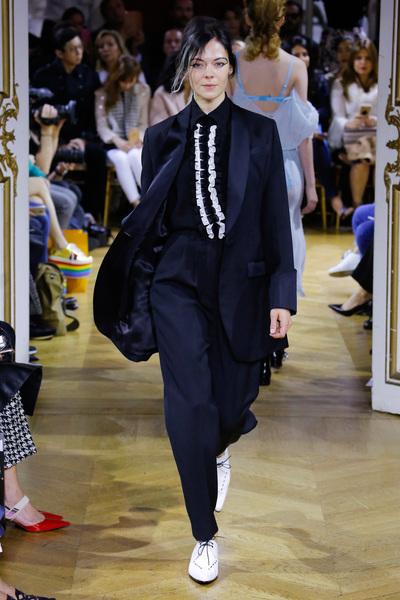 John Galliano Spring 2018 Ready-to-Wear - Look #18