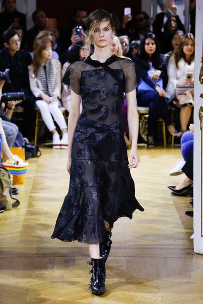 John Galliano Spring 2018 Ready-to-Wear - Look #5