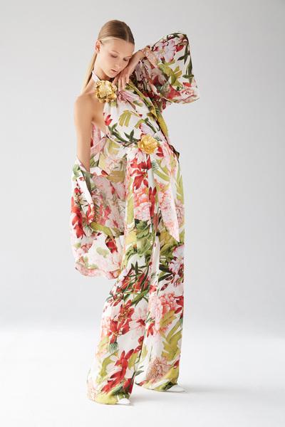 Josie Natori Spring 2018 Ready-to-Wear - Look #1