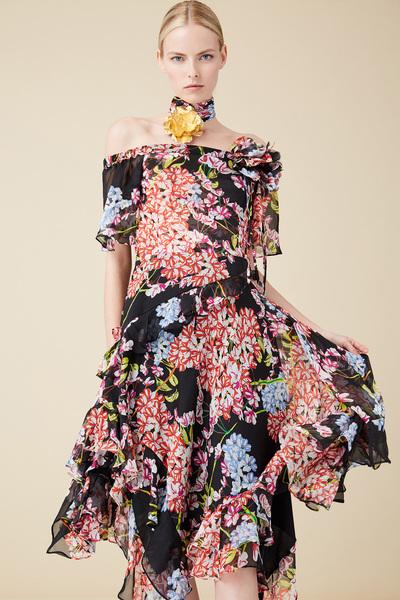 Josie Natori Spring 2018 Ready-to-Wear - Look #12