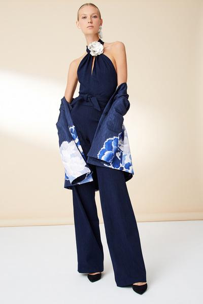 Josie Natori Spring 2018 Ready-to-Wear - Look #15