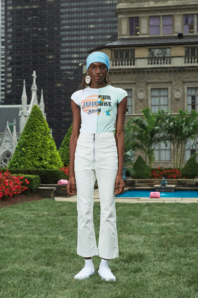 Juicy Couture Spring 2018 Ready-to-Wear - Look #4