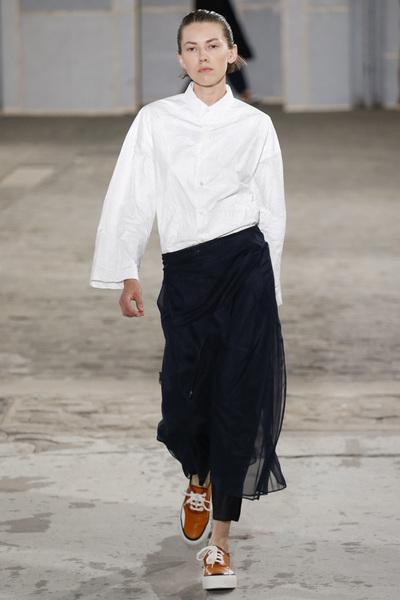Julien David Spring 2018 Ready-to-Wear - Look #17