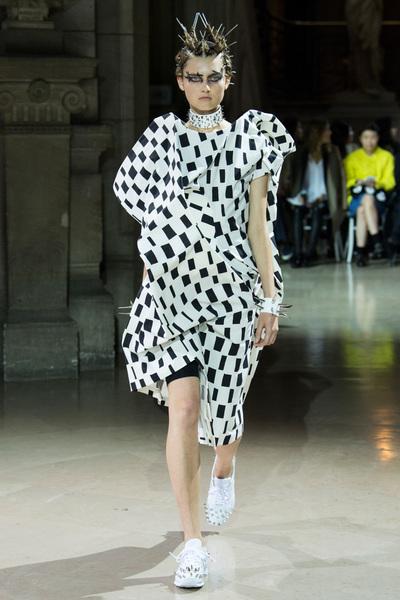 Junya Watanabe Spring 2018 Ready-to-Wear - Look #1