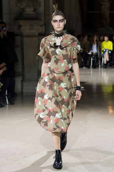 Junya Watanabe Spring 2018 Ready-to-Wear - Look #34