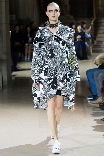 Junya Watanabe Spring 2018 Ready-to-Wear - Look #7