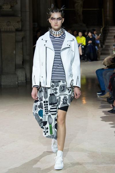 Junya Watanabe Spring 2018 Ready-to-Wear - Look #9