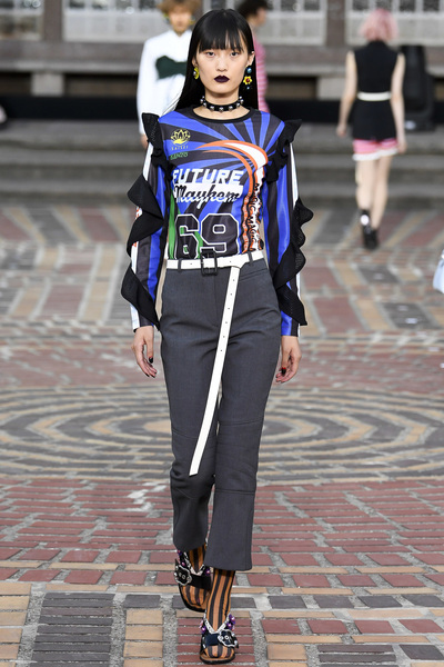 KENZO Spring 2018 Ready-to-Wear - Look #10