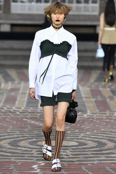 KENZO Spring 2018 Ready-to-Wear - Look #11