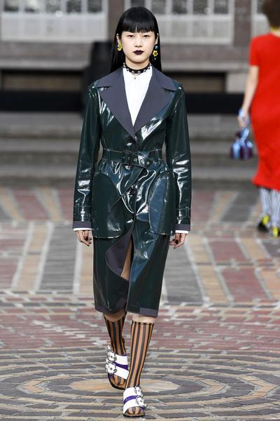 KENZO Spring 2018 Ready-to-Wear - Look #12