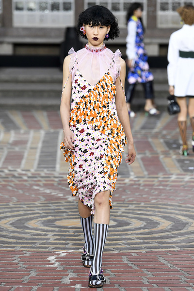 KENZO Spring 2018 Ready-to-Wear - Look #18