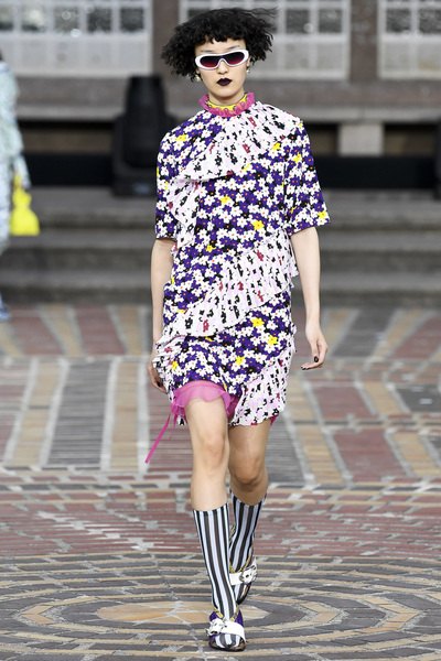 KENZO Spring 2018 Ready-to-Wear - Look #19