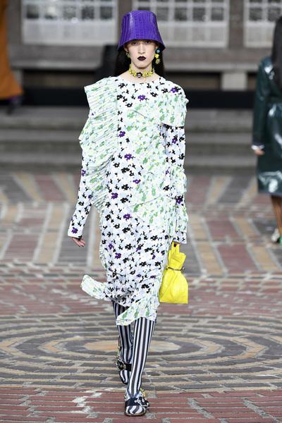 KENZO Spring 2018 Ready-to-Wear - Look #20