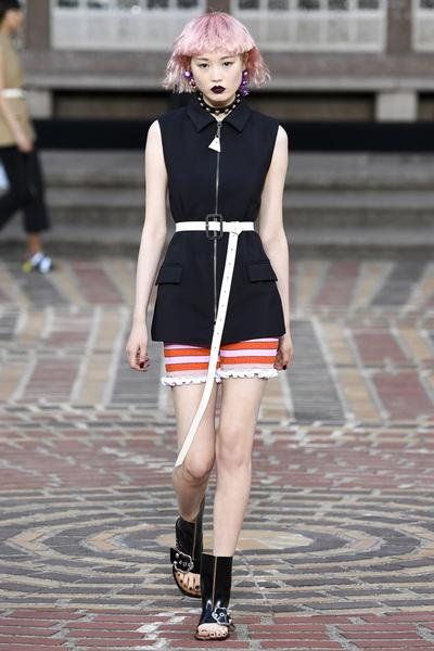 KENZO Spring 2018 Ready-to-Wear - Look #3