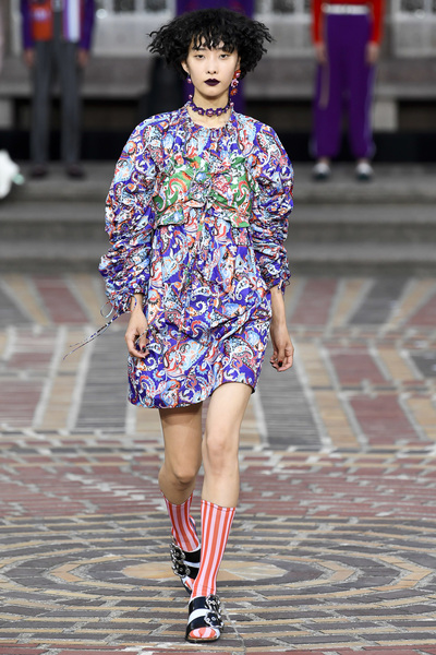 KENZO Spring 2018 Ready-to-Wear - Look #31