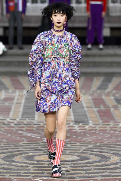 KENZO Spring 2018 Ready-to-Wear - Look #31