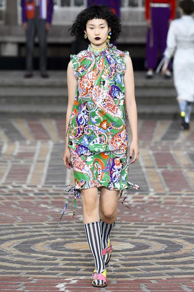 KENZO Spring 2018 Ready-to-Wear - Look #33