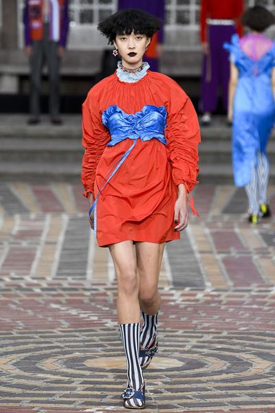 KENZO Spring 2018 Ready-to-Wear - Look #34