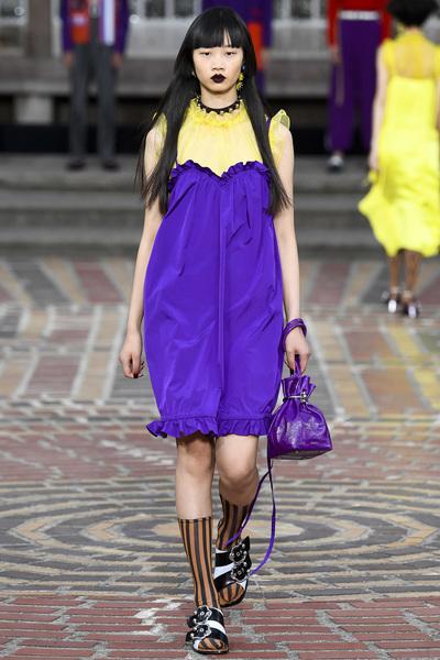 KENZO Spring 2018 Ready-to-Wear - Look #35