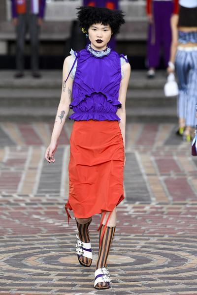 KENZO Spring 2018 Ready-to-Wear - Look #37