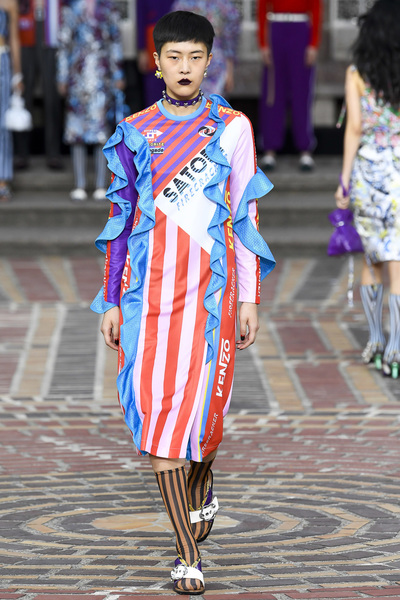 KENZO Spring 2018 Ready-to-Wear - Look #39