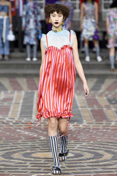 KENZO Spring 2018 Ready-to-Wear - Look #41