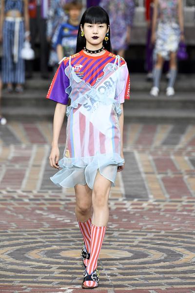 KENZO Spring 2018 Ready-to-Wear - Look #42