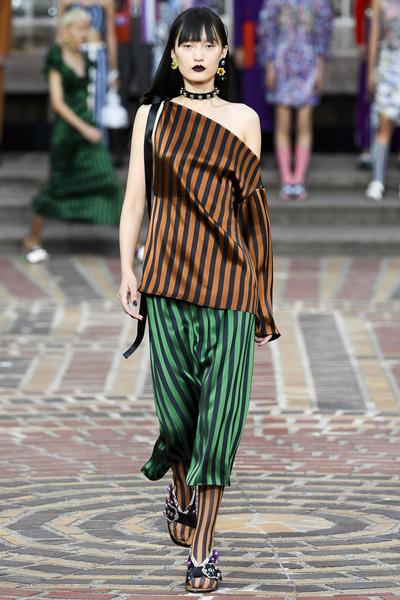 KENZO Spring 2018 Ready-to-Wear - Look #45
