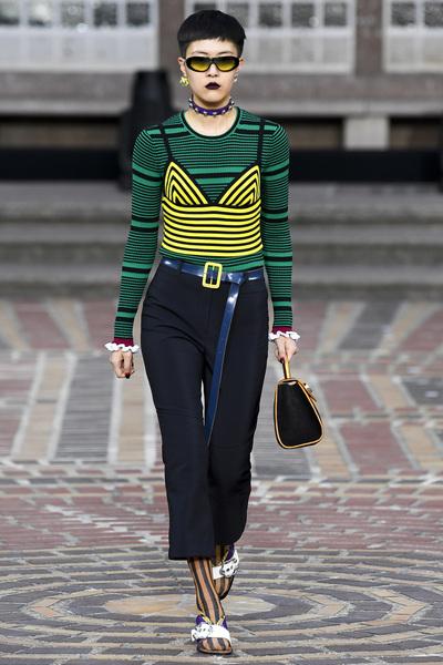 KENZO Spring 2018 Ready-to-Wear - Look #6