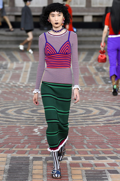 KENZO Spring 2018 Ready-to-Wear - Look #8