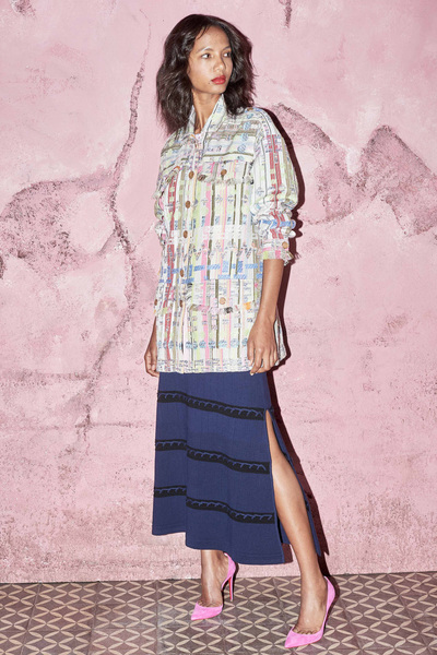 Kimora Lee Simmons Spring 2018 Ready-to-Wear - Look #11