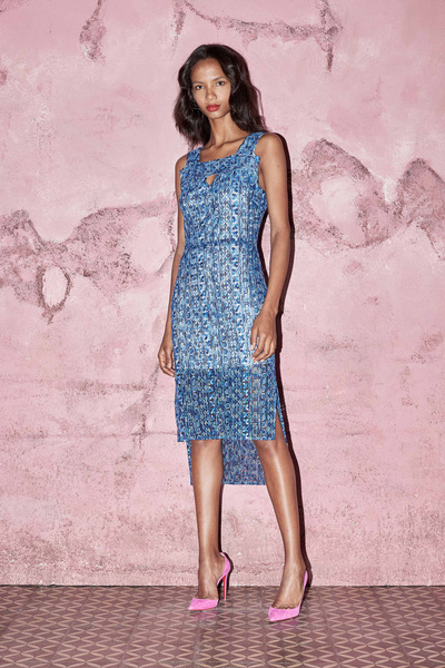 Kimora Lee Simmons Spring 2018 Ready-to-Wear - Look #16