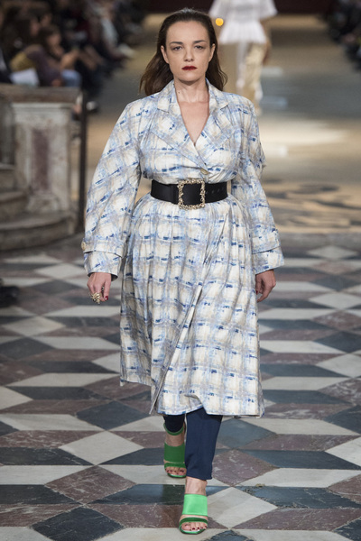 KOCHÉ Spring 2018 Ready-to-Wear - Look #7