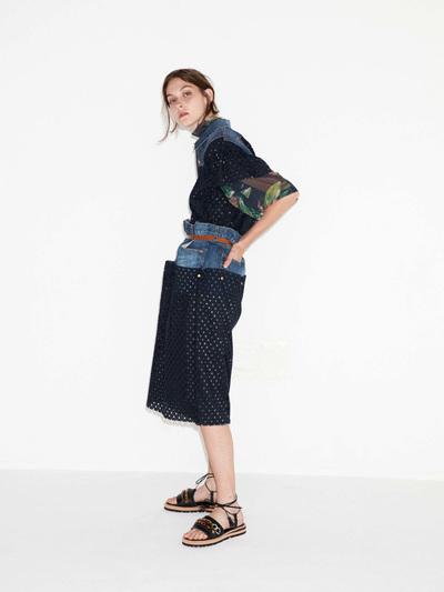 Kolor Spring 2018 Ready-to-Wear - Look #12