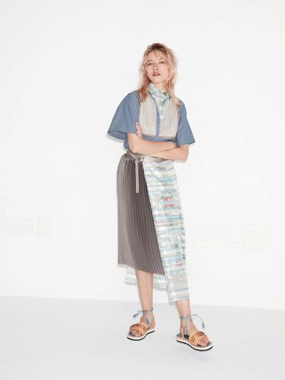 Kolor Spring 2018 Ready-to-Wear - Look #2