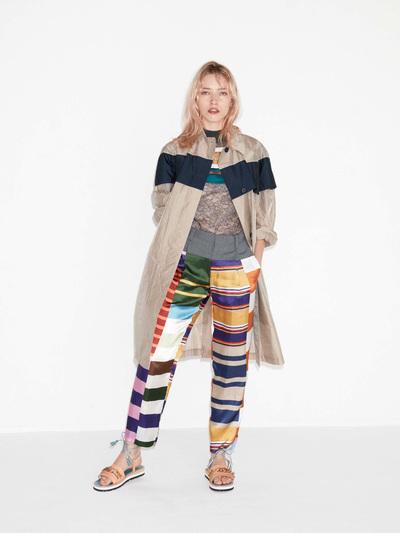 Kolor Spring 2018 Ready-to-Wear - Look #21