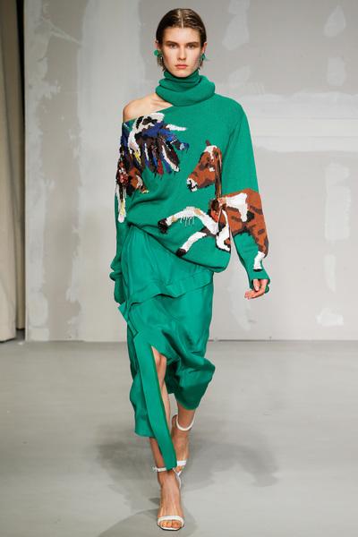 Krizia Spring 2018 Ready-to-Wear - Look #4