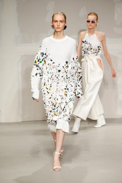 Krizia Spring 2018 Ready-to-Wear - Look #40