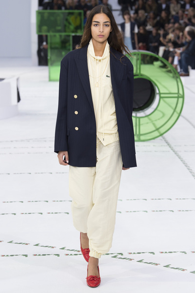Lacoste Spring 2018 Ready-to-Wear - Look #1
