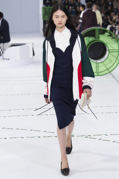 Lacoste Spring 2018 Ready-to-Wear - Look #10