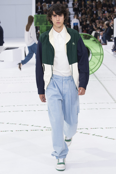 Lacoste Spring 2018 Ready-to-Wear - Look #11