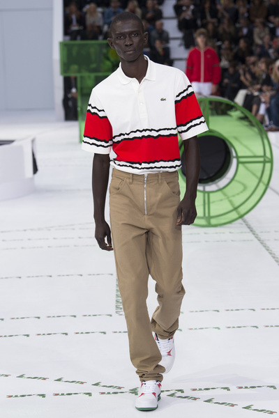Lacoste Spring 2018 Ready-to-Wear - Look #16