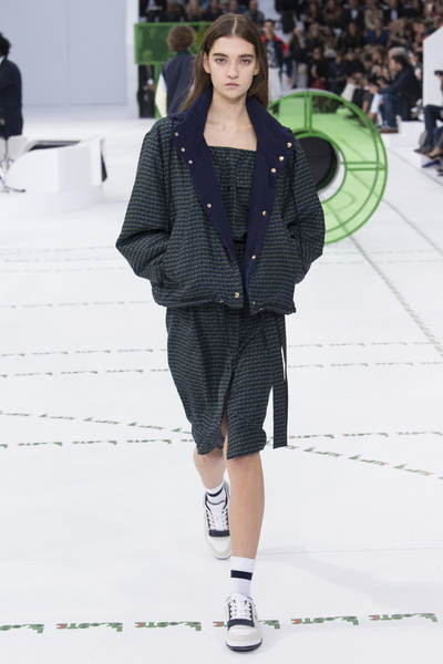 Lacoste Spring 2018 Ready-to-Wear - Look #17