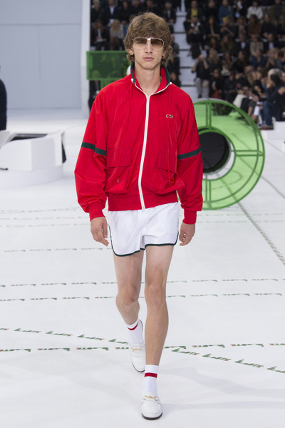 Lacoste Spring 2018 Ready-to-Wear - Look #18