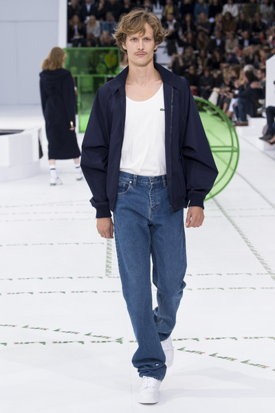 Lacoste Spring 2018 Ready-to-Wear - Look #28
