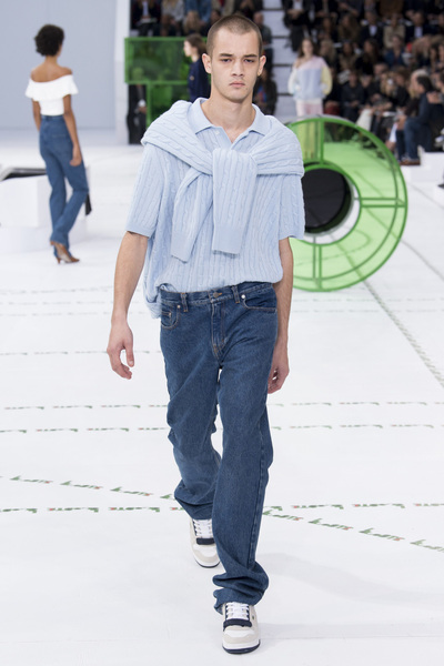Lacoste Spring 2018 Ready-to-Wear - Look #34