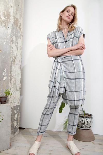 Laura Siegel Spring 2018 Ready-to-Wear - Look #1