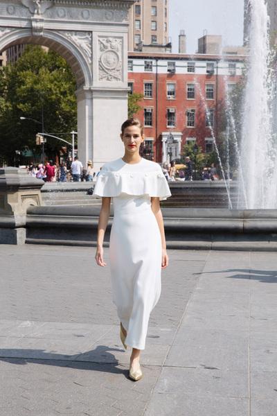 Lela Rose Spring 2018 Ready-to-Wear - Look #1