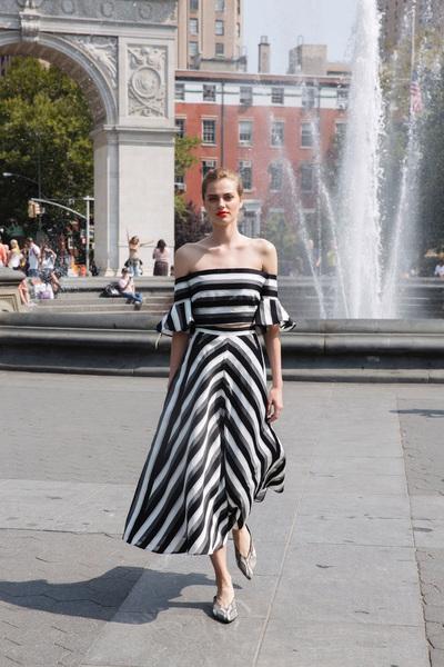 Lela Rose Spring 2018 Ready-to-Wear - Look #21